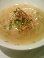 「MIST COURSE ¥3,000 〆のらぁ麺ハーフサイズ(塩」@MIST 表参道ヒルズ店の写真