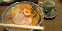 「じゃんじゃんラーメン+大盛り(麺固め、脂多め)」@らーめん じゃんじゃんの写真