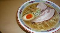 「塩ラーメン + ミニライス」@煮干鰮らーめん 圓の写真
