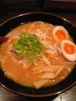 「ばんだい味噌らーめん(味玉サービスCP) ¥650円」@大泉らーめんの写真