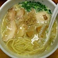 「白湯ラーメン」@鶏の穴の写真