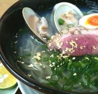「蛤潮蕎麦800円」@MENYA 食い味の道有楽の写真
