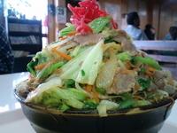 「肉そば 650円」@波布食堂の写真