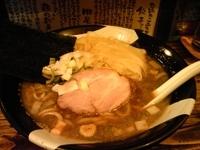 「上級煮干らーめん(2010.12.31限定)」@すごい煮干ラーメン凪 新宿ゴールデン街店 本館の写真
