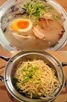 「ラーメン+煮玉子+替玉」@がんばる軒の写真