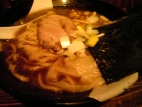 「煮干ラーメン 750円」@すごい煮干ラーメン凪 新宿ゴールデン街店 本館の写真
