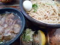 「かすつけ麺(大盛り)」@テラダ商店の写真