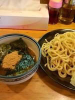 「つけ麺 750円」@横浜ラーメン とんこつ家 いわき店の写真
