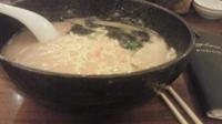 「ラーメン 大盛 麺硬め」@横濱家 新羽店の写真