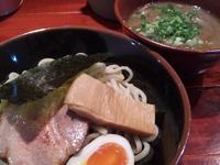 「鶏魚介煮干つけそば200g¥750」@喜元門 つくば東光台店の写真
