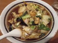 「とろりサンマー麺」@中華ダイニング 好鴨の写真