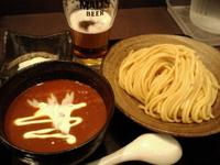 「温玉カレーつけめん(中盛)」@三ツ矢堂製麺 明大前店の写真