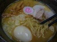 「らーめん(普通盛) 680円+味玉(クーポン利用)」@ラーメン まぁびんの写真