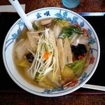 「「龍舟麺」(りゅうしゅうめん)」@玄咲 月寒本店の写真