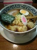 「ワンタン麺(醤油)」@多摩利屋の写真