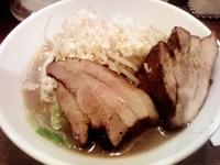 「ガツ盛り二郎系らーめん(並)」@麺屋 GOO ~noodle house~の写真