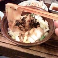 「麺のお刺身¥???」@すごい煮干ラーメン凪 新宿ゴールデン街店 本館の写真