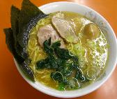 「味玉ラーメン大(太麺)」@鹿島家 黄金町店の写真