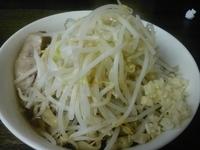 「小らーめん 700円 野菜 にんにく」@蓮爾 さんこま店の写真