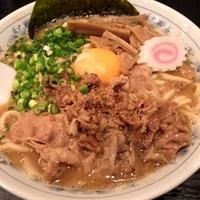 「徳島風豚玉ラーメン 850円」@大勝軒まるいち 川口店の写真