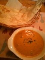 「シーフードカレー・ナン」@カレー&カフェ セラ・ラの写真