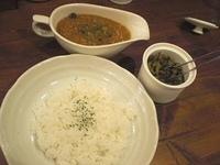 「日替りトマトキーマ」@raffles curryの写真