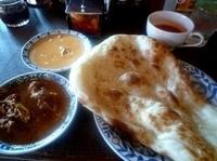 「シタールランチセット(1239円)+ナンに変更(105円)」@インド料理 シタールの写真