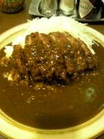「メンチカツカレー¥630」@キッチン南海 蔵前店の写真