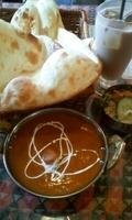 「チキンカレーセット 750円」@インド ネパール料理 ナマステ食堂の写真