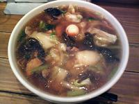 「五目うま煮そば(750円)+餃子(450円)」@中国料理 昌龍飯店の写真
