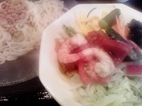 「冷やしカレー麺」@麺屋ここいち 瀬戸西本地店の写真