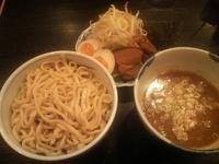「野菜つけめん・中盛+味玉」@麺屋 いっこくの写真
