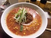 「坦々麺(600円)」@まる担 おがわの写真