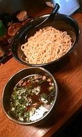 「あっさり醤油つけ麺680円」@らぁ麺酒場 月光(華麺)の写真