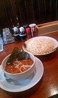「つけ麺(中盛)750円」@つけ麺や 辰盛の写真