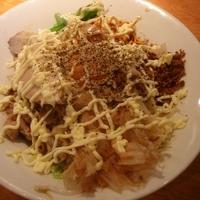 「汁なし麺 780」@豚さんちの写真