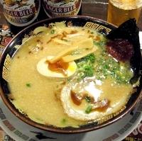 「赤だま みそとんこつラーメン(細麺)」@おおぎやラーメン 行田店の写真