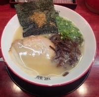 「塩とんこつラーメン:600円」@風龍.MAX 渋谷店の写真