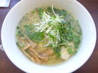 「塩菜麺」@松軒中華食堂 田無店の写真