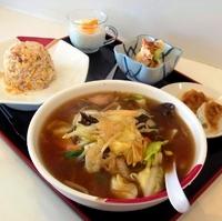 「野菜麺 (チャーハンのランチセット)」@チャイナレストラン 珉珉の写真