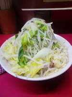 「小ラーメン(野菜ニンニク)」@ラーメン二郎 大宮店の写真