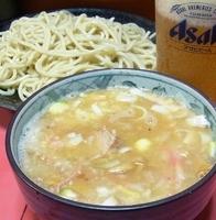「つけ麺(ニンニク・アブラ)」@ラーメン二郎 歌舞伎町店の写真