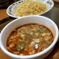 「酸辣湯つけ麺 (期間限定) 580円」@かかしのラーメン 氷川町店の写真