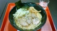 「鶏らーめん ¥790→¥400(モテコクーポン)+鶏(?)チャー」@味噌専門 鶏のチカラ クロスガーデン前橋 上州ラーメン道場の写真