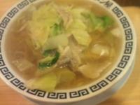 「タンメン(600)+追加野菜(100)+追加豚肉(100)」@元祖 タンメン屋の写真