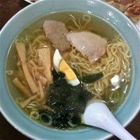 「中国そば(¥550)ギョーザ(¥450)」@中国料理 おがわの写真