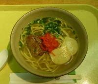 「琉球そば(軟骨ソーキ)」@Snack Court by Fugetsuの写真