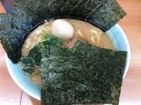 「ラーメン(並)+味玉+海苔(¥650+¥50+¥50)」@横浜家系ラーメン 二代目 梅家の写真