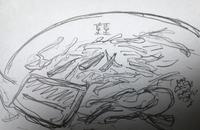 「ラーメン(ニンニク)¥730」@ら・けいこの写真