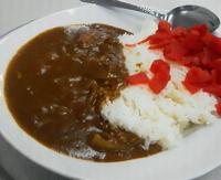 「カレーライス 310円」@山食の写真